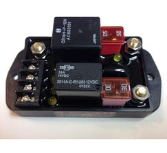 LEASH ELECTRONICS SINGLE STAGE NITROUS BOARD - GROUND ACTIVATION - SSN2012