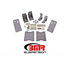 BMR TORQUE BOX REINFORCEMENT PLATE KIT (TBR002 AND TBR003) - 1979-2004 MUSTANG - NATURAL - TBR001