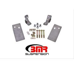 BMR TORQUE BOX REINFORCEMENT PLATES - UPPER ONLY (PLATE STYLE) - 1979-2004 MUSTANG - NATURAL - TBR002