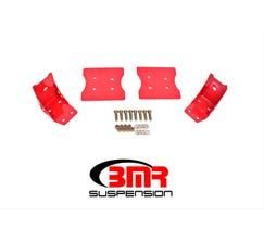 BMR TORQUE BOX REINFORCEMENT PLATES - LOWER ONLY - 1979-2004 MUSTANG - RED - TBR003R