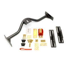 BMR TRANSMISSION CONVERSION CROSSMEMBER - TH350 - PG - 700R4 - 4L60E - 1967-1969 F-BODY - BLACK - TCC030H