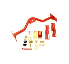 BMR TRANSMISSION CONVERSION CROSSMEMBER - TH350 - PG - 700R4 - 4L60E - 1967-1969 F-BODY - RED - TCC030R