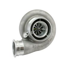 F.I. TURBOCHARGER -S485 - V2 OUTLET COVER - 100mm TURBINE - 1.32 A/R - T6 FLANGE