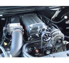 WHIPPLE 14-17 6.0L GM 2500HD 2.3L SUPERCHARGER KIT - BLACK - WK1114B