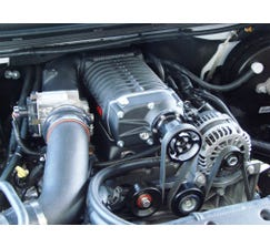 WHIPPLE 14+ 6.2L GM DI TRUCK 2.9L SUPERCHARGER KIT - BLACK - NO TUNE - WK1201TB