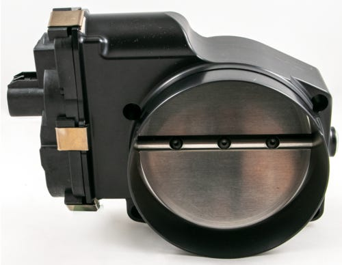 NICK WILLIAMS 103MM DBW THROTTLE BODY - BLACK - SD103LSB