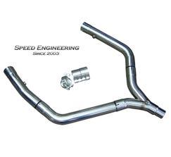 Speed Engineering LS1 Stainless Steel Off-Road Y-Pipe (1998-2002 Camaro, Firebird)