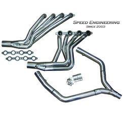 "Speed Engineering LS1 Longtube Headers 1 3/4"" & Off-Road Y-Pipe ""Race Version"""