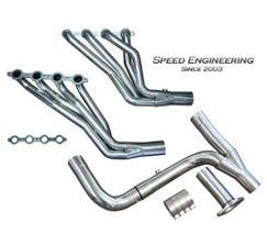 """Speed Engineering Truck SUV 1 7/8"""" Longtube Headers & Y-Pipe (1999-2006)"""