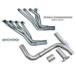 "Speed Engineering Truck SUV 1 3/4"" Longtube Headers & Y-Pipe (1999-2006)"