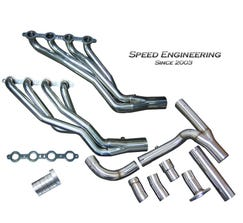 "Speed Engineering Truck SUV 1 7/8"" Longtube Headers & Y-Pipe (2007-2013)"