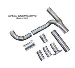 Speed Engineering Off-Road Y-Pipe 2007-13 Truck & SUV